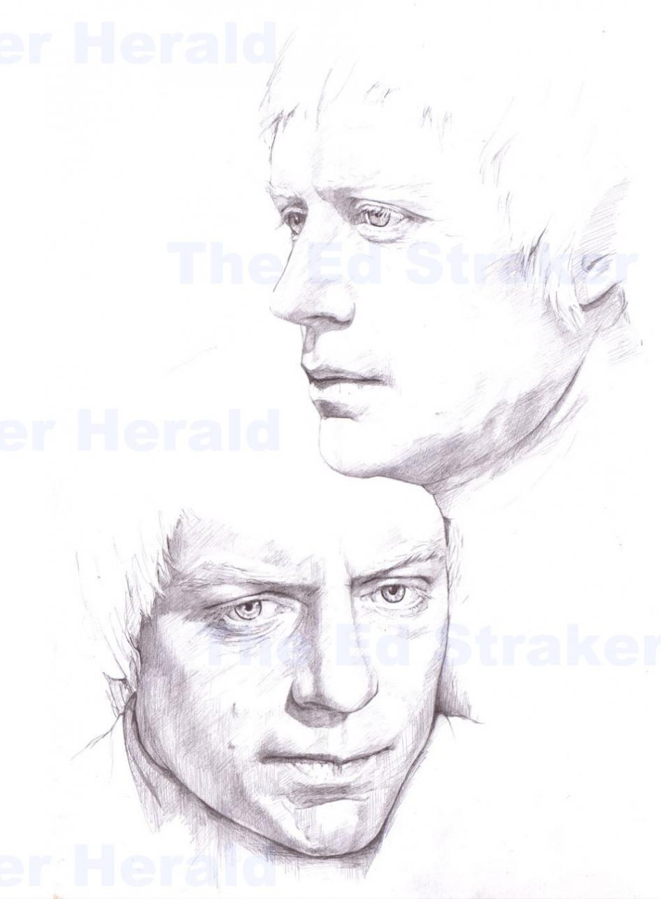 Ed Straker Portrait Study