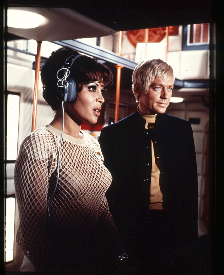 Ed Straker and Nina Barry Courtesy of UFO Series homepage