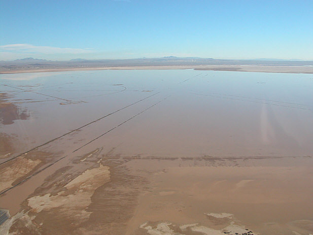 Edwards Air Base Dry lake
