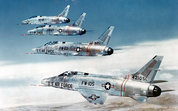 f-100 in Formation
