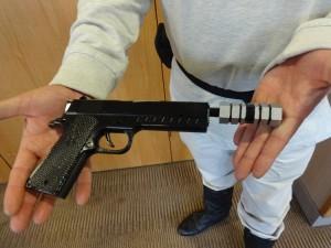 SHADO gun