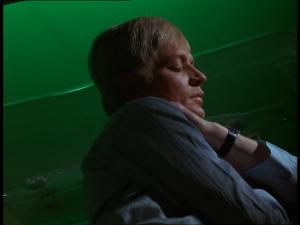 Straker asleep